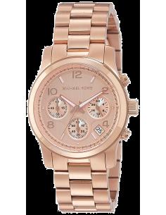 Chic Time | Montre Femme Michael Kors Runway MK5430 Bracelet en acier de couleur or rose  | Prix : 211,65€