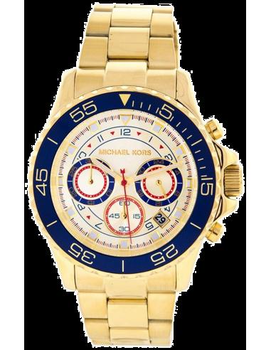 Chic Time | Montre Homme Michael kors Everest MK5792 Multifonction Bracelet en acier doré  | Prix : 149,90€
