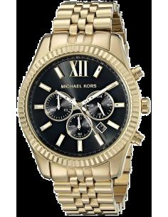 Chic Time | Montre Homme Michael Kors Lexington MK8286 Bracelet en acier doré  | Prix : 149,50€