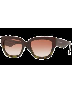 Chic Time | Lunettes de soleil femme Burberry BE4252 365113 Bordeaux/Vert  | Prix : 249,00€
