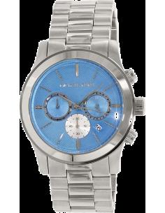 Chic Time | Montre Femme Michael Kors Runway MK5953 Bleu lagon & argent  | Prix : 254,15€