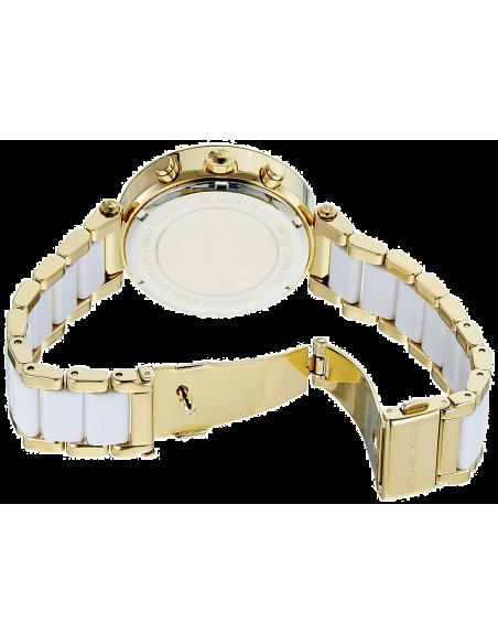 Chic Time | Montre Femme Michael Kors Parker MK6119 Blanc  | Prix : 250,75€