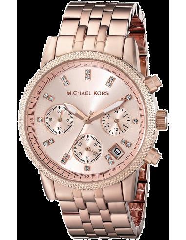 Chic Time   Montre Femme Michael Kors Ritz MK6077 Or Rose    Prix : 167,40€