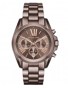 Chic Time | Montre Femme Michael Kors Bradshaw MK6247 Marron  | Prix : 251,10 €