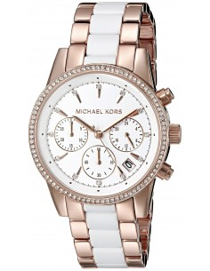 Chic Time | Montre Femme Michael Kors Ritz MK6324 Or Rose  | Prix : 296,10€