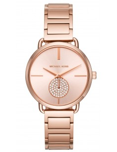 Chic Time | Montre Femme Michael Kors Portia MK3640 Or Rose  | Prix : 194,35 €