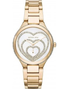 Chic Time | Montre Femme Michael Kors Lainey Pavé Heart MK3604  | Prix : 209,90 €