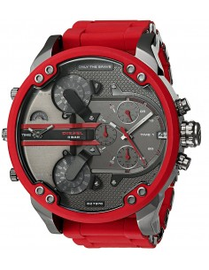 Chic Time | Montre Homme Diesel Mr Daddy DZ7370 Rouge  | Prix : 343,20 €
