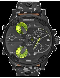 Chic Time | Montre Homme Diesel Mr Daddy DZ7311 Militaire Noir/Gris  | Prix : 263,20€