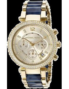 Chic Time | Montre Femme Michael Kors Parker MK6238 Bleu  | Prix : 254,15€