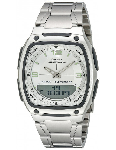 Chic Time | Montre Homme Casio AW-81D-7AVEF Argent  | Prix : 69,00€