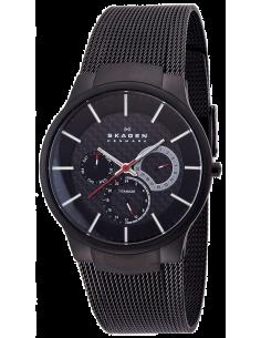 Chic Time | Montre Homme Skagen Titanium Black 809XLTBB  | Prix : 279,90€