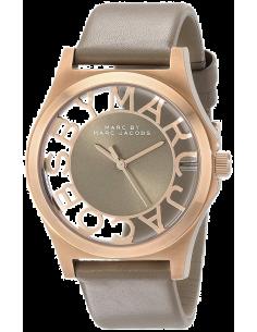 Chic Time | Montre Marc Jacobs Henry Skeleton MBM1245 Bracelet en cuir beige  | Prix : 119,40€