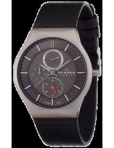 Chic Time   Montre Homme Skagen 806XLTLM Cuir Noir    Prix : 99,50€