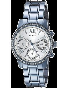 Chic Time | Montre Femme Guess W0623L4 Bleu  | Prix : 191,40€