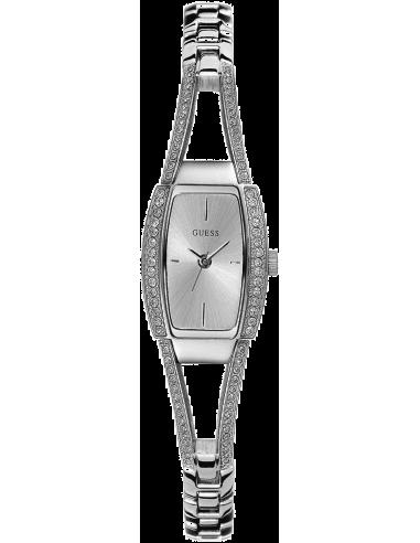 Chic Time | Montre Guess Hourglass I80266L1 Forme tonneau cadran métal XS  | Prix : 149,00€