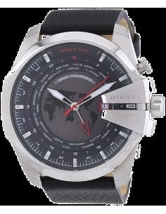 Chic Time | Montre Homme Diesel Mega Chief DZ4320 Bracelet et cadran noirs  | Prix : 183,20€