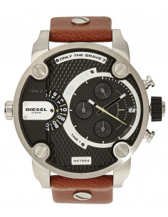 Chic Time | Montre Homme Diesel Super Bad Ass DZ7264 Marron  | Prix : 237,15 €
