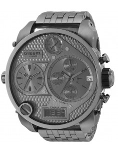 Chic Time | Montre Diesel Homme XXL DZ7247 Super Bad Ass Acier Gunmetal  | Prix : 322,15 €