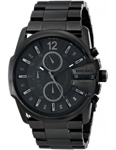 Chic Time | Montre Diesel Homme DZ4180 Black Out Chronograph Master Chief  | Prix : 191,20 €