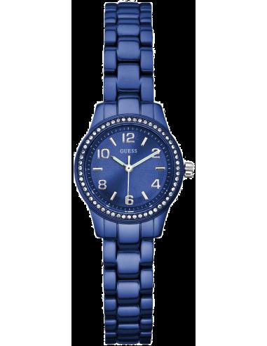 Chic Time | Montre Guess Femme Micro Mini Bleue W80074L2  | Prix : 129,00€