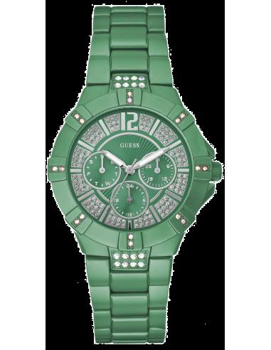 Chic Time | Montre Guess Femme Vista Verte W11624L6  | Prix : 179,90€