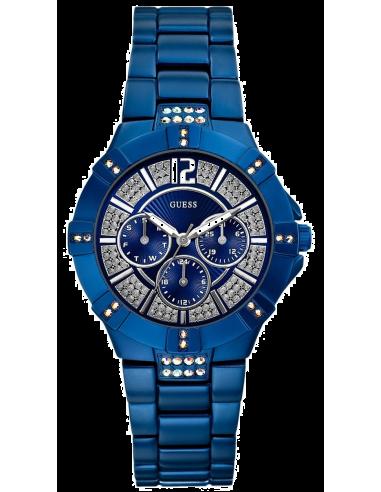 Chic Time   Montre Guess Femme Vista Bleue W11624L7    Prix : 179,90€