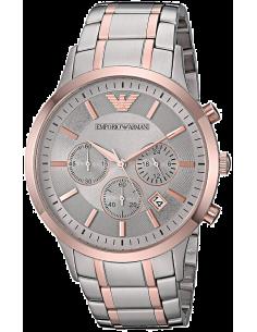 Chic Time | Montre Homme Armani Renato AR11077 Bracelet bi-ton or et gris  | Prix : 245,40€