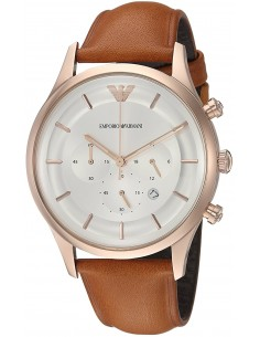 Chic Time | Montre Homme Armani Dress AR11043 Brun  | Prix : 299,00 €