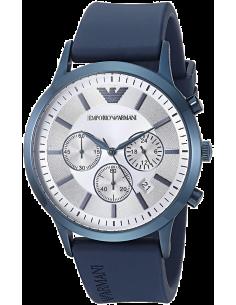 Chic Time | Montre Homme Emporio Armani Renato AR11026 Bleu  | Prix : 164,50€