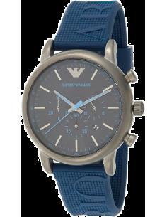Chic Time | Montre Homme Emporio Armani Luigi AR11023 Bleu  | Prix : 167,40€