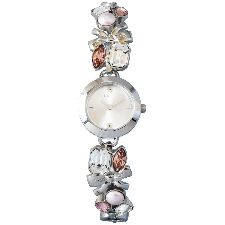 Montre Guess Femme U11062L1 Bracelet noeuds & Pierres à 144