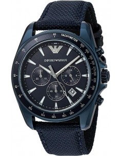 Chic Time | Montre Homme Emporio Armani Sportivo AR6132 Bleu  | Prix : 299,00€