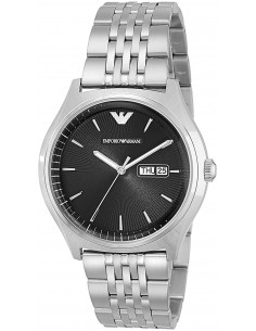 Chic Time | Montre Homme Emporio Armani Zeta AR1977 Argent  | Prix : 299,00€