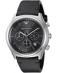 Chic Time | Montre Homme Emporio Armani Zeta AR1975 Noir  | Prix : 299,00€
