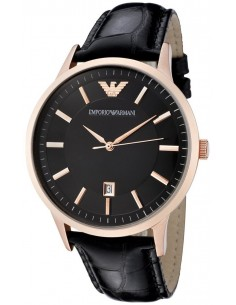 Chic Time | Montre Homme Armani Classic AR2425 Noir  | Prix : 199,20€