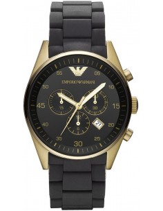 Chic Time | Montre Homme Armani Sportivo AR8023 Noir  | Prix : 199,50€