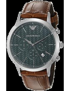 Chic Time | Montre Homme Armani Dress AR2493 Marron  | Prix : 299,00€