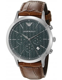 Chic Time | Montre Homme Armani Dress AR2493 Marron  | Prix : 299,00 €