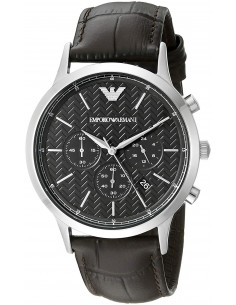 Chic Time | Montre Homme Armani Dress AR2494 Marron  | Prix : 229,00 €