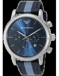 Chic Time | Montre Homme Armani Luigi AR1949 Bleu  | Prix : 259,00€