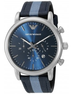 Chic Time | Montre Homme Armani Dress AR1949 Bleu  | Prix : 194,25 €
