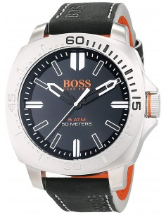Chic Time | Montre Homme Boss Orange 1513295 Noir  | Prix : 169,15 €
