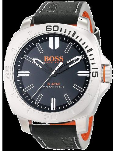 Chic Time   Montre Homme Boss Orange 1513295 Noir    Prix : 169,15€