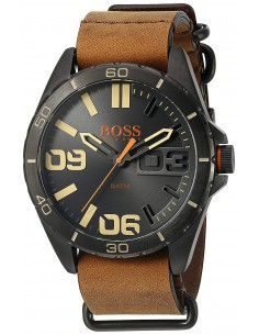 Chic Time   Montre Homme Hugo Boss Boss Orange 1513316 Marron    Prix : 211,65€