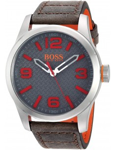 Chic Time | Montre Homme Hugo Boss Boss Orange 1513351 Marron  | Prix : 119,20 €