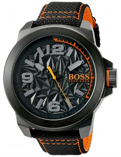 Chic Time | Montre Homme Hugo Boss Boss Orange 1513343 Noir  | Prix : 169,15 €
