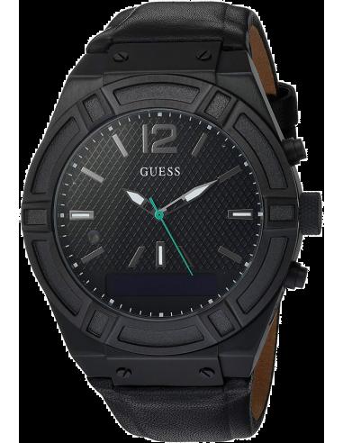 Chic Time   Montre Connectée Guess Connect C0001G5 Noir Smartwatch    Prix : 369,85€