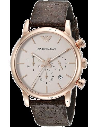 Chic Time | Montre Homme Emporio Armani AR1809 Marron  | Prix : 194,25€