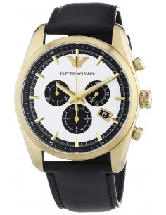 Chic Time | Montre Homme Emporio Armani Sportivo AR6006 Noir  | Prix : 259,00€